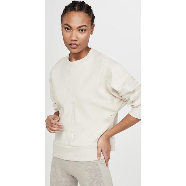 【エントリーでポイント5倍】(取寄)アディダス バイ ステラ マッカートニー レディース Ess スウェットシャツ adidas by Stella McCartney Women's Ess Sweatshirt ClearBrown