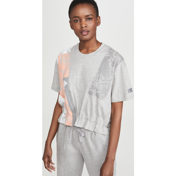 (取寄)アディダス バイ ステラ マッカートニー レディース グラフィック ティー adidas by Stella McCartney Women's Graphic Tee GreyHeather