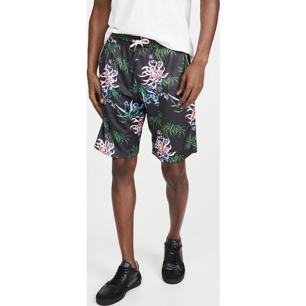 (取寄)ケンゾー テクニカル オールオーバー ショーツ KENZO Technical Allover Shorts Black