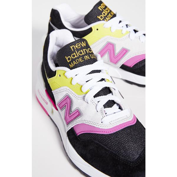 (取寄)ニューバランス メンズ メイド イン アス 997S スニーカー New Balance Men's Made In US 997S Sneakers Black Pink