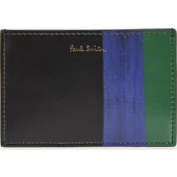 (取寄)ポールスミス ブラッシュ カード ホルダー Paul Smith Brush Card Holder Black