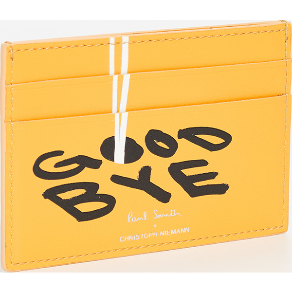 (取寄)ポールスミス x クリストフ ニーマン カード ケース Paul Smith x Christoph Niemann Card Case Yellow