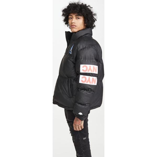 (取寄)アディダス メンズ オリジナルス バイ アレキサンダー ワン フレックス 2 クラブ パファー ジャケット adidas Men's Originals by Alexander Wang Flex2Club Puffer Jacket Black