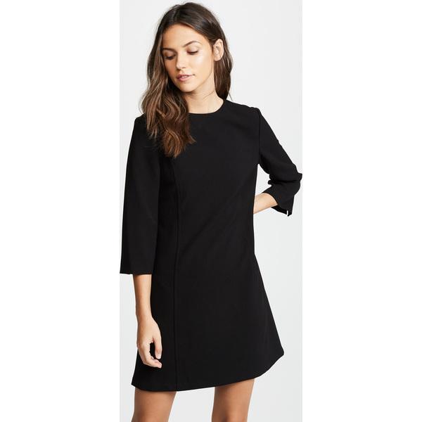 (取寄)アリス アンド オリビア レディース ジェム 3/4 スリーブ シフト ドレス alice + olivia Women's Gem 3/4 Sleeve Shift Dress Black