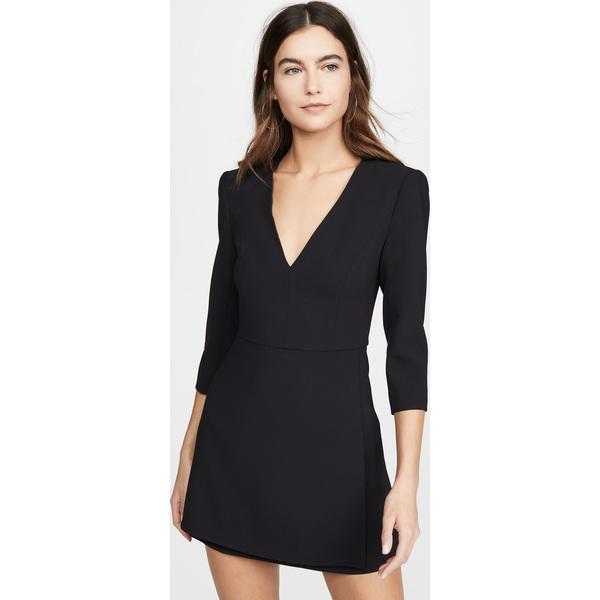 (取寄)アリス アンド オリビア レディース スティービー ダブル レイヤー ドレス alice + olivia Women's Stevie Double Layer Dress Black