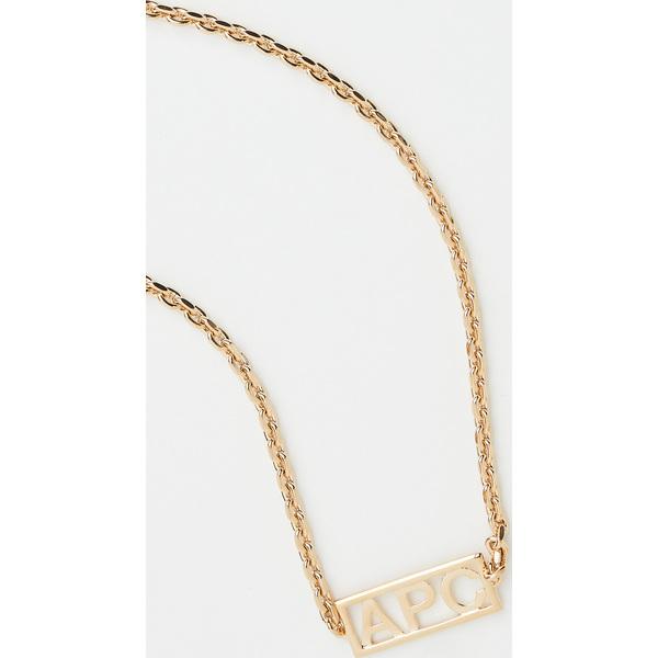 【クーポンで最大2000円OFF】(取寄)アーペーセー ノア ネックレス A.P.C. Noa Necklace Gold