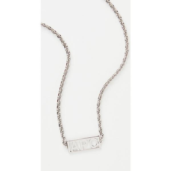 【クーポンで最大2000円OFF】(取寄)アーペーセー ノア ネックレス A.P.C. Noa Necklace Silver