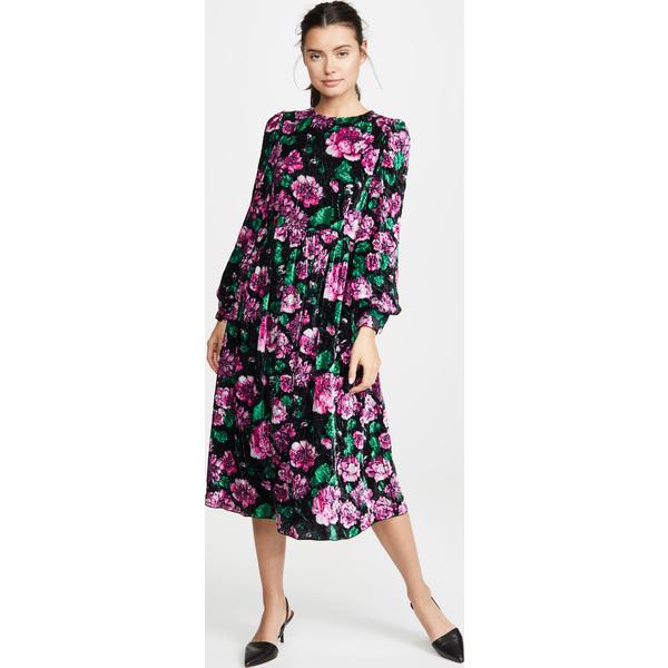 (取寄)マークジェイコブス ブルゾン スリーブ フレア ドレス The Marc Jacobs Blouson Sleeve Flare Dress Multi