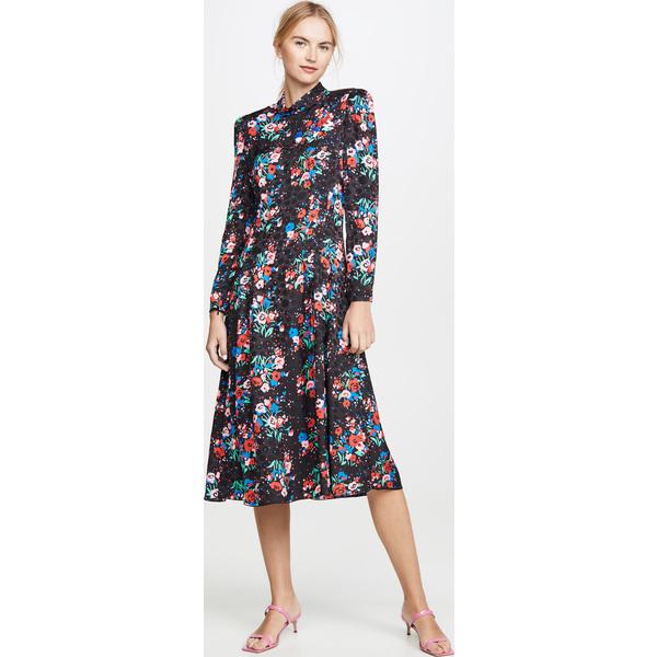 (取寄)マークジェイコブス ザ 40s ドレス The Marc Jacobs The '40s dress BlackMulti