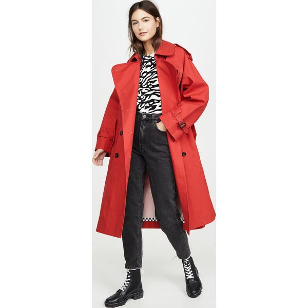 (取寄)マークジェイコブス ザ トレンチ コート The Marc Jacobs The Trench Coat Red