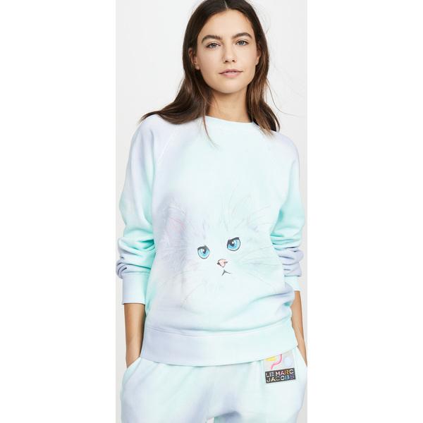 (取寄)マークジェイコブス ザ エアブラシ スウェットシャツ The Marc Jacobs The Airbrushed Sweatshirt LilacMulti