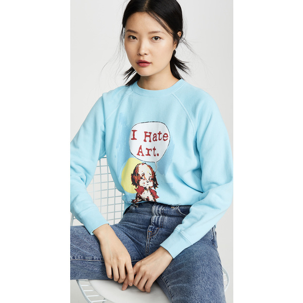 (取寄)マークジェイコブス マグダ アーチャー x ザ コラボレーション スウェットシャツ The Marc Jacobs Magda Archer x The Collaboration Sweatshirt Blue