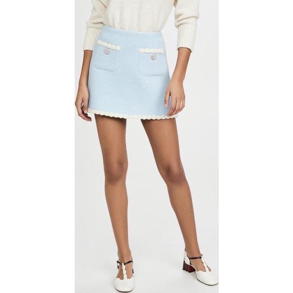 (取寄)マークジェイコブス ザ ツイード スカート The Marc Jacobs The Tweed Skirt BabyBlue