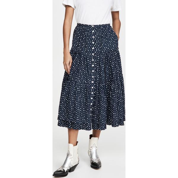 (取寄)マークジェイコブス ザ プレリー スカート The Marc Jacobs The Prairie Skirt Navy