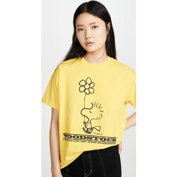 (取寄)マークジェイコブス x ピーナッツ ウッドストック Tシャツ The Marc Jacobs x Peanuts Woodstock T-Shirt Yellow