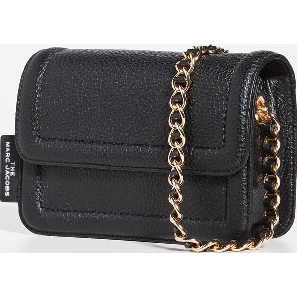(取寄)マークジェイコブス ミニ クッション バッグ The Marc Jacobs Mini Cushion Bag Black