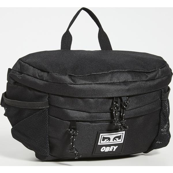 (取寄)オベイ コンディションズ ウェスト バッグ 3 Obey Conditions Waist Bag III Black