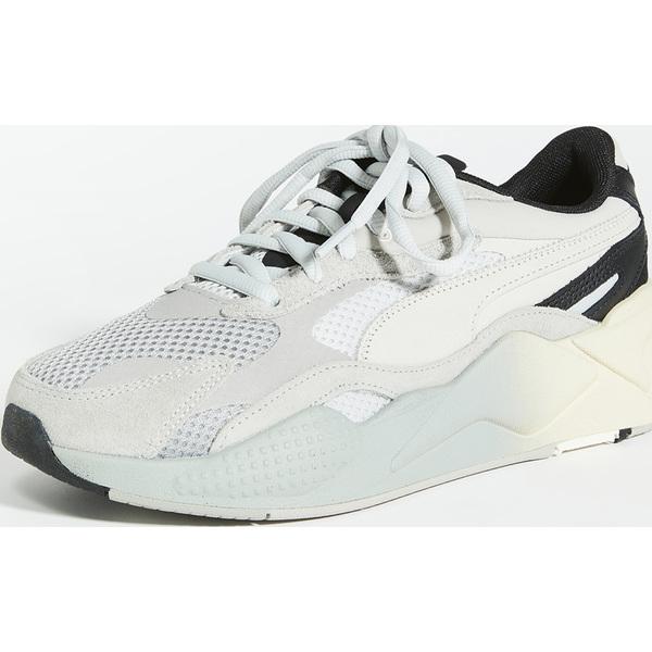 (取寄)プーマ セレクト RS-X ムーブ スニーカー PUMA Select RS-X Move Sneakers Limestone GreyViolet