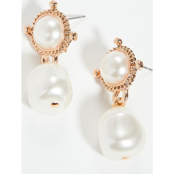 【クーポンで最大2000円OFF】(取寄)シャシ エアレス ピアス Shashi Heiress Earrings Pearl