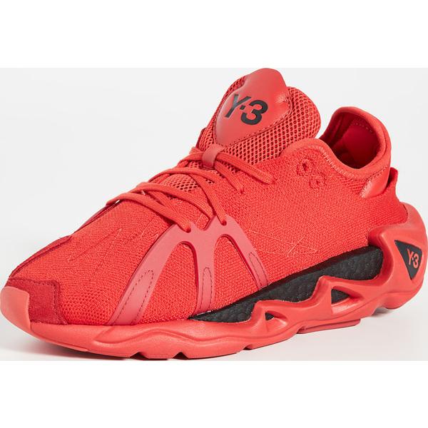 (取寄)ワイスリー レディース ワイスリー レディース Fyw S-97 スニーカー Y-3 Y-3 Fyw S-97 Sneakers Red Black Red