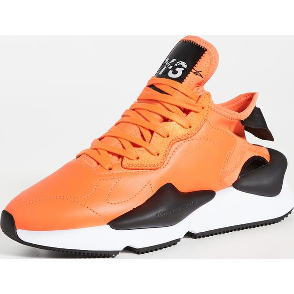 (取寄)ワイスリー レディース ワイスリー レディース カイワ スニーカー Y-3 Y-3 Kaiwa Sneakers Solorange Black Ftwrwhite