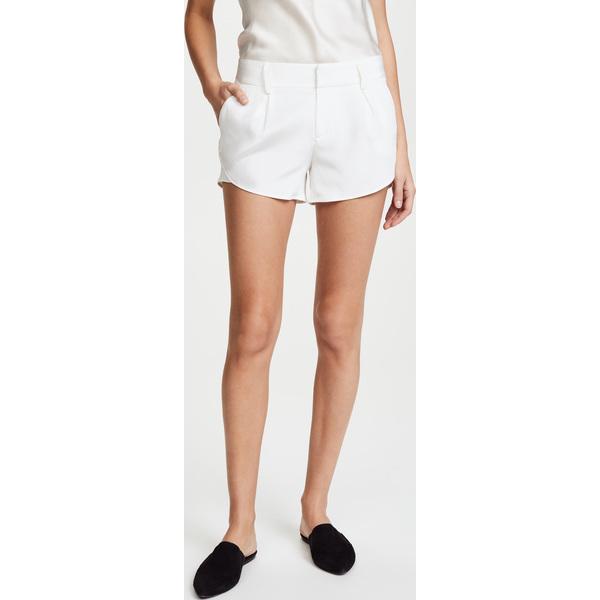 (取寄)アリス アンド オリビア レディース バタフライ ショーツ alice + olivia Women's Butterfly Shorts White
