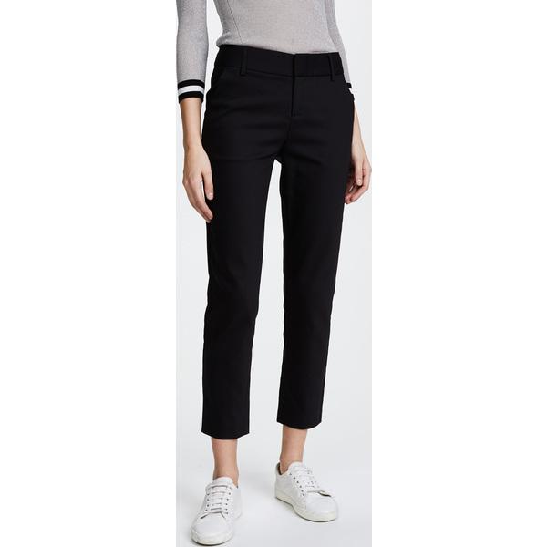 (取寄)アリス アンド オリビア レディース ステイシー スリム パンツ alice + olivia Women's Stacey Slim Pants Black
