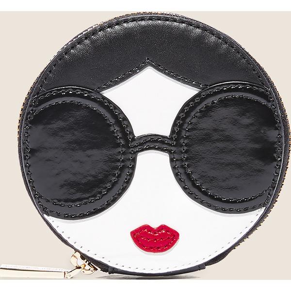 【エントリーでポイント5倍】(取寄)アリス アンド オリビア レディース ステイス フェイス セキュラー コイン ポーチ alice + olivia Women's Stace Face Circular Coin Pouch Multi