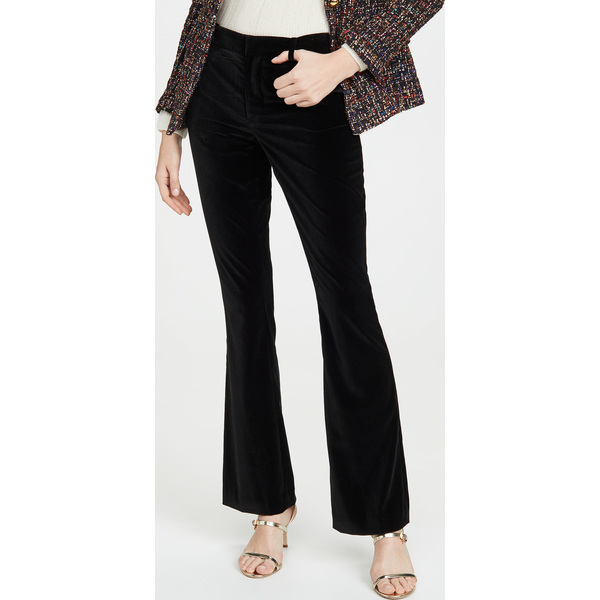(取寄)アリス アンド オリビア レディース ヘイリー ブーツカット パンツ alice + olivia Women's Hayley Bootcut Pants Black