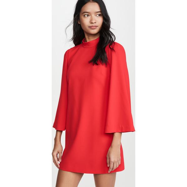 (取寄)アリス アンド オリビア レディース ベイリー ベル スリーブ ドレス alice + olivia Women's Bailey Bell Sleeve Dress Paprika