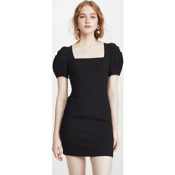 (取寄)アリス アンド オリビア レディース レイチェル パフ スリーブ ミニ ドレス alice + olivia Women's Rachel Puff Sleeve Mini Dress Black