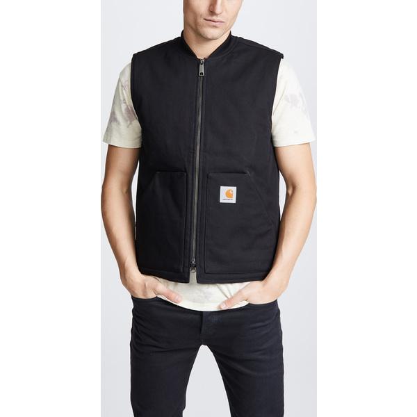 (取寄)カーハート ダブリューアイピー メンズ ユーティリティ ベスト Carhartt WIP Men's Men's Utility Vest Black