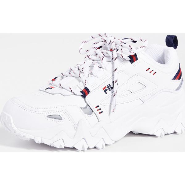 (取寄)フィラ レディース オークモント トレ スニーカー Fila Women's Oakmont TR Sneakers White FilaNavy FilaRed