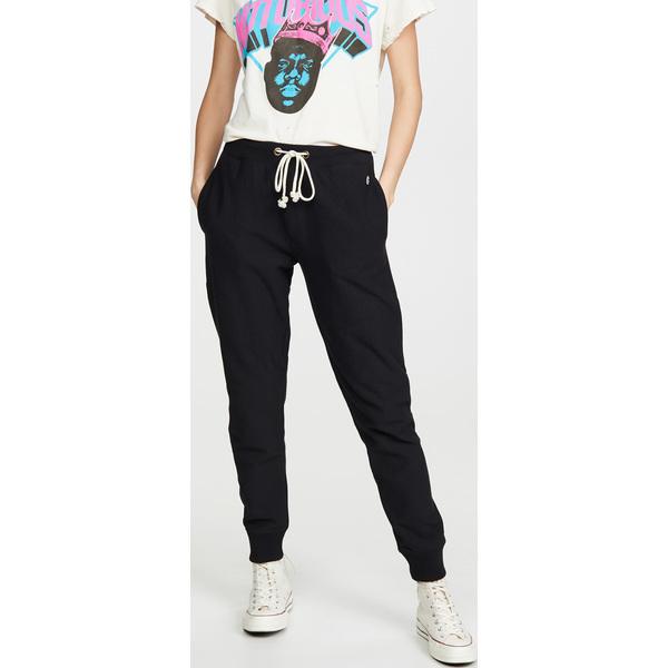 (取寄)チャンピオン プレミアム リバース ウィーブ レディース エラスティック カフ パンツ Champion Premium Reverse Weave Women's Elastic Cuff Pants Black