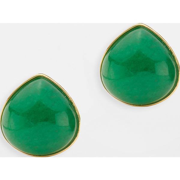 【クーポンで最大2000円OFF】(取寄)ケイトスペード パール ドロップス スタッズ Kate Spade New York Pearl Drops Studs Green