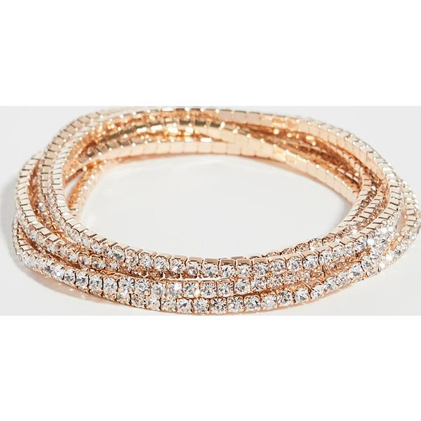 (取寄)シャシ カジノ ブレスレット Shashi Casino Bracelet Gold