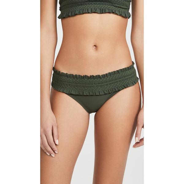 (取寄)トリーバーチ レディース コスタ ヘアバンド ビキニ ボトム Tory Burch Women's Costa Bandeau Bikini Bottoms GreenOlive GreenOlive