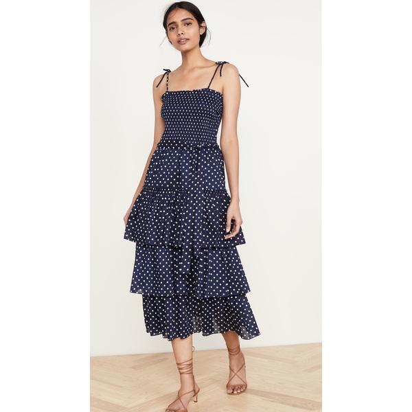 (取寄)トリーバーチ レディース スモック ドレス Tory Burch Women's Smocked Dress ClassicDotPrint