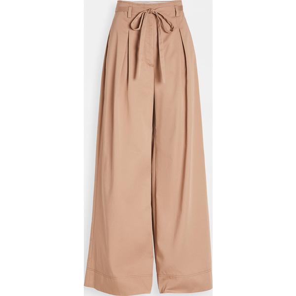 (取寄)トリーバーチ レディース トラウザーズ Tory Burch Women's Trousers NaturalTan