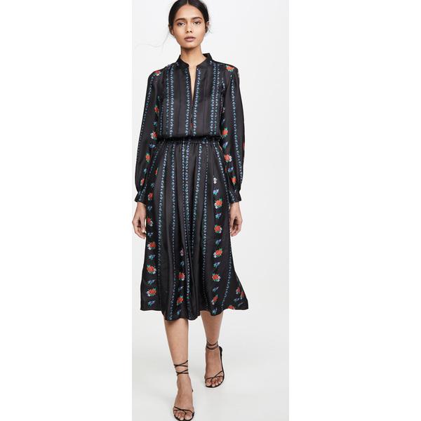 (取寄)トリーバーチ レディース プリンテッド ロング スリーブ ドレス Tory Burch Women's Printed Long Sleeve Dress HeirloomStripe