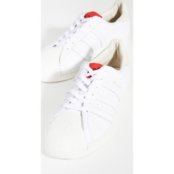 (取寄)アディダス メンズ x 424 シェルト スニーカー adidas Men's x 424 Shelltoe Sneakers Cwhite Cwhite Scarlet