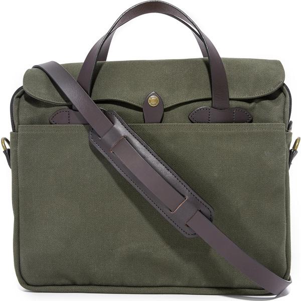 (取寄)フィルソン オリジナル ブリーフケース FILSON Original Briefcase OtterGreen