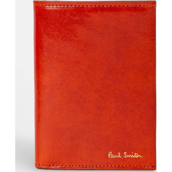(取寄)ポールスミス ポリッシュ カード ホルダー Paul Smith Polished Card Holder Red