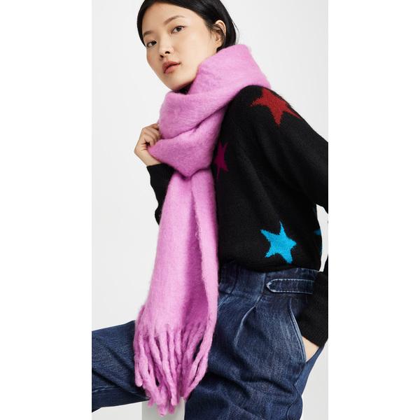 (取寄)レベッカミンコフ ウーブン ブランケット スカーフ Rebecca Minkoff Woven Blanket Scarf Punch