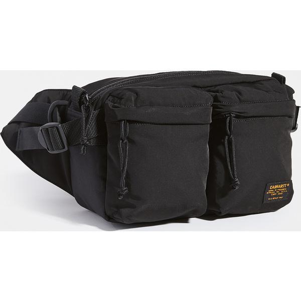 (取寄)カーハート ダブリューアイピー ミリタリー ヒップ バッグ Carhartt WIP Military Hip Bag Black Black