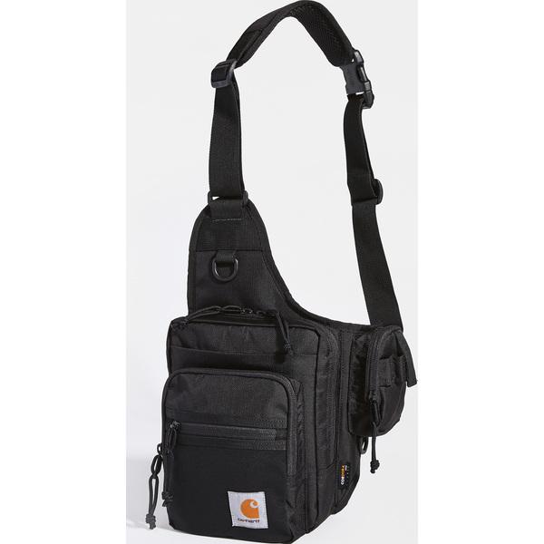 (取寄)カーハート ダブリューアイピー デルタ ショルダー バッグ Carhartt WIP Delta Shoulder Bag Black