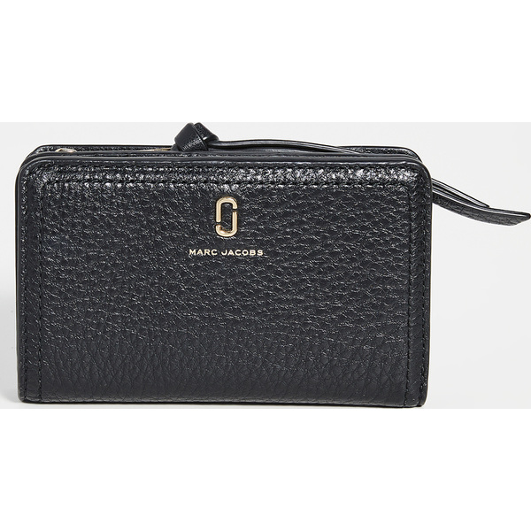 (取寄)マークジェイコブス コンパクト ウォレット The Marc Jacobs Compact Wallet Black