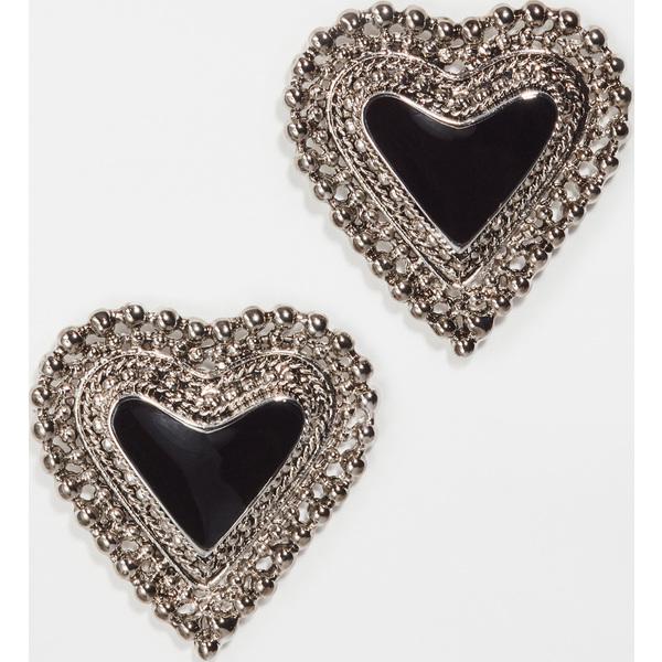 【クーポンで最大2000円OFF】(取寄)シャシ ナイト ピアス Shashi Knight Earrings Silver