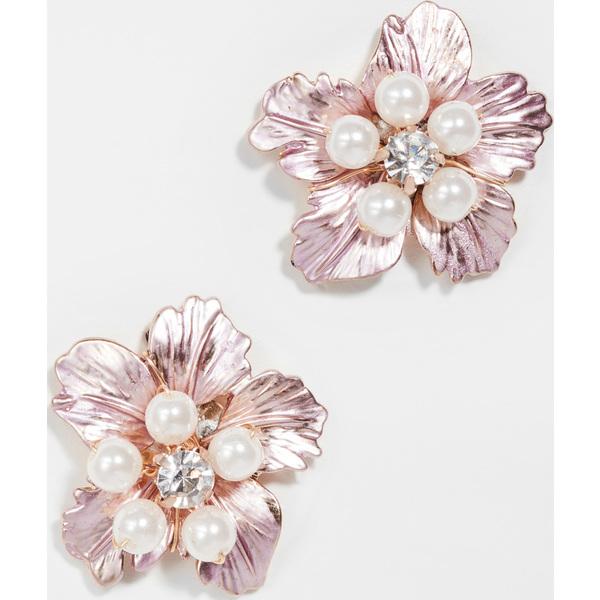 【クーポンで最大2000円OFF】(取寄)シャシ ミッシー フラワー スタッズ Shashi Missy Flower Studs Pink