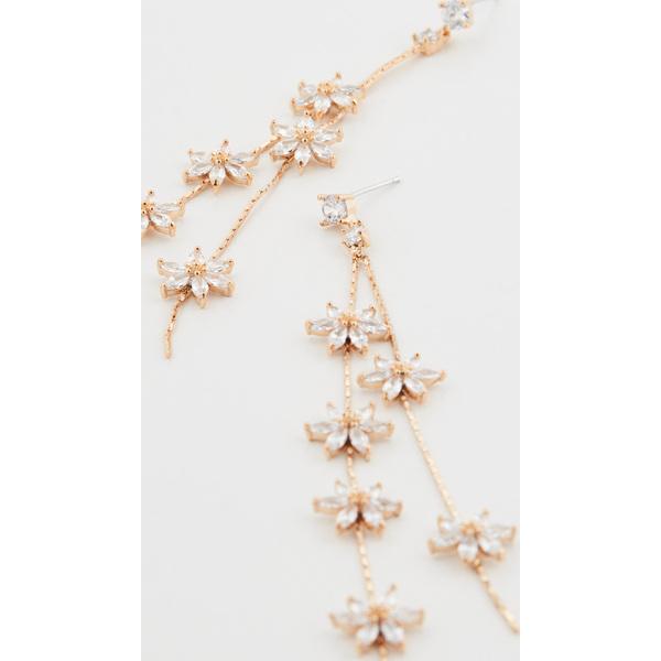 【クーポンで最大2000円OFF】(取寄)シャシ ウィスパー ピアス Shashi Whisper Earrings Gold